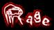 Font Grunge Rage Logo Preview