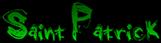 Font Grunge Saint Patrick Logo Preview