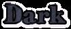 Font HVD Bodedo Dark Logo Preview