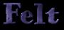 Font HVD Bodedo Felt Logo Preview