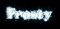 Font HVD Bodedo Frosty Logo Preview