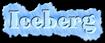Font HVD Bodedo Iceberg Logo Preview
