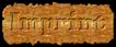 Font HVD Bodedo Imprint Logo Preview