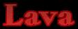 Font HVD Bodedo Lava Logo Preview