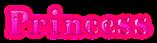 Font HVD Bodedo Princess Logo Preview