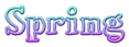 Font HVD Bodedo Spring Logo Preview