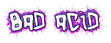Font Hardcore Bad Acid Logo Preview