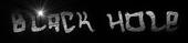 Font Hardcore Black Hole Logo Preview