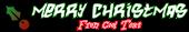Font Hardcore Christmas Symbol Logo Preview