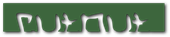 Font Hardcore Cutout Logo Preview