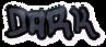 Font Hardcore Dark Logo Preview