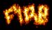 Font Hardcore Fire Logo Preview