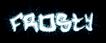 Font Hardcore Frosty Logo Preview