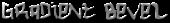 Font Hardcore Gradient Bevel Logo Preview