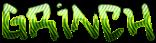 Font Hardcore Grinch Logo Preview