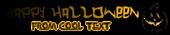 Font Hardcore Halloween Symbol Logo Preview