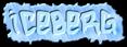 Font Hardcore Iceberg Logo Preview