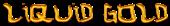 Font Hardcore Liquid Gold Logo Preview
