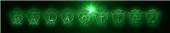 Font Hearts Galactica Logo Preview