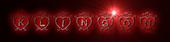 Font Hearts Klingon Logo Preview
