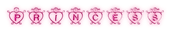 Font Hearts Princess Logo Preview