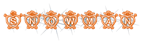 Font Hearts Snowman Logo Preview