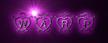 Font Hearts Warp Logo Preview