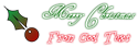 Font HenryMorganHand Christmas Symbol Logo Preview