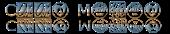 Font HippyStampA Cool Metal Logo Preview