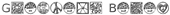 Font HippyStampA Gradient Bevel Logo Preview