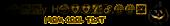 Font HippyStampA Halloween Symbol Logo Preview