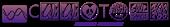 Font HippyStampA Symbol Logo Preview