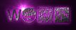 Font HippyStampA Warp Logo Preview