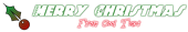 Font Holy Ravioli Christmas Symbol Logo Preview