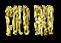 Font Horror Hotel Gold Bar Logo Preview
