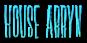 Font Horror Hotel House Arryn Logo Preview
