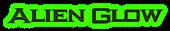 Font Ikarus Alien Glow Logo Preview