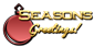 Font Ikarus Seasons Greetings Logo Preview
