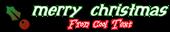 Font Initial Christmas Symbol Logo Preview