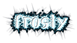 Font Initial Frosty Logo Preview
