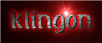 Font Initial Klingon Logo Preview