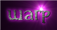 Font Initial Warp Logo Preview