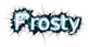 Font IronPipe Frosty Logo Preview
