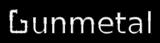Font IronPipe Gunmetal Logo Preview