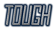 Font Jealousy Tough Logo Preview