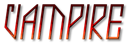 Font Jealousy Vampire Logo Preview