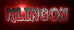 Font Jokewood Klingon Logo Preview