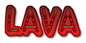 Font Jokewood Lava Logo Preview