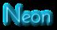 Font Josefin Neon Logo Preview