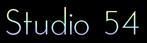 Font Josefin Studio 54 Logo Preview